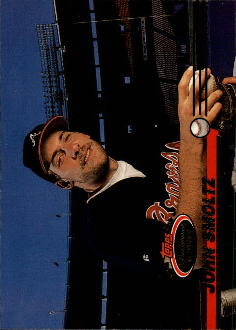 1993 Stadium Club #463 John Smoltz