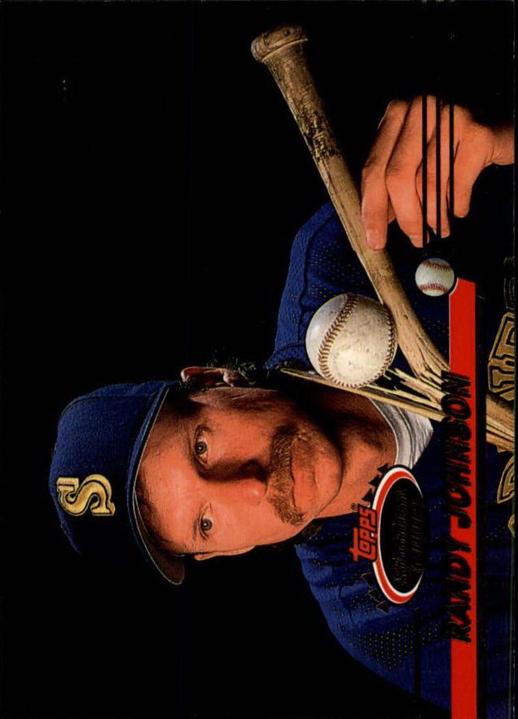 1993 Stadium Club #501 Randy Johnson