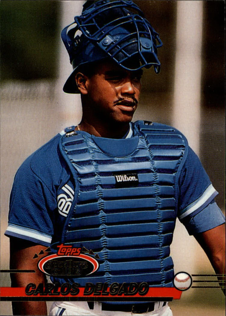 1993 Stadium Club #520 Carlos Delgado