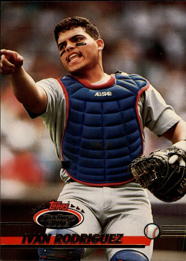 1993 Stadium Club #524 Ivan Rodriguez