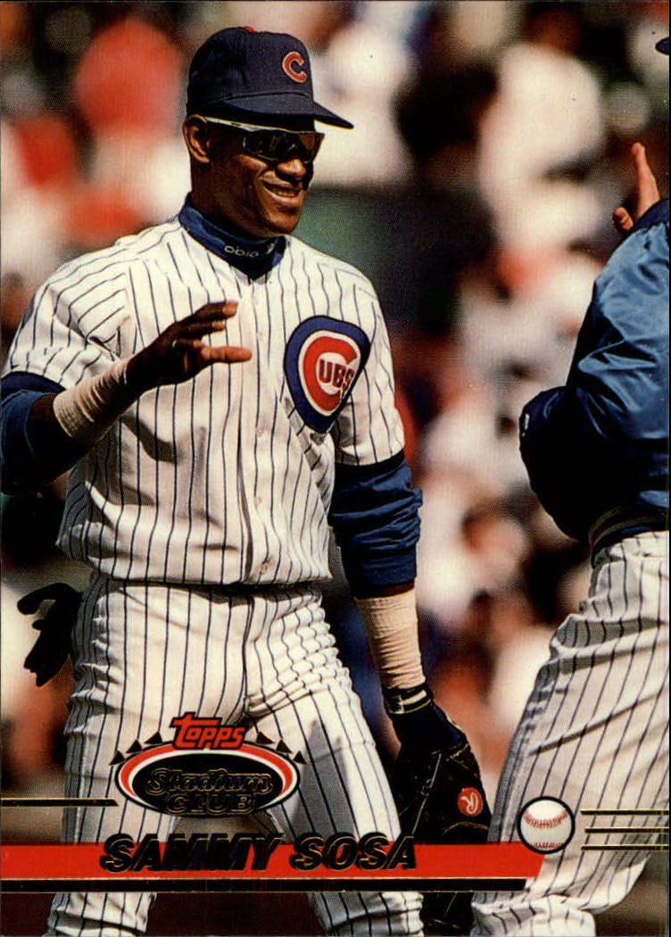 1993 Stadium Club #531 Sammy Sosa