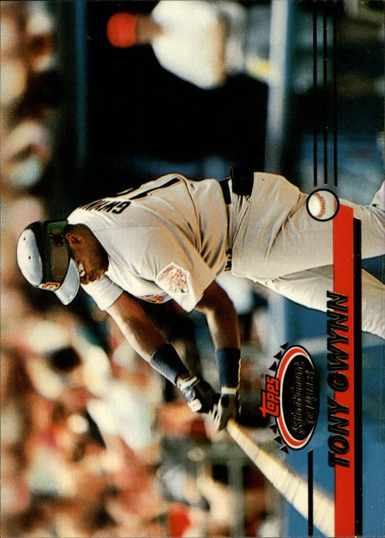 1993 Stadium Club #538 Tony Gwynn