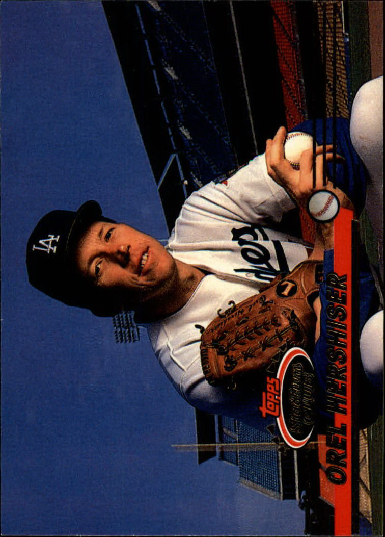 1993 Stadium Club #544 Orel Hershiser