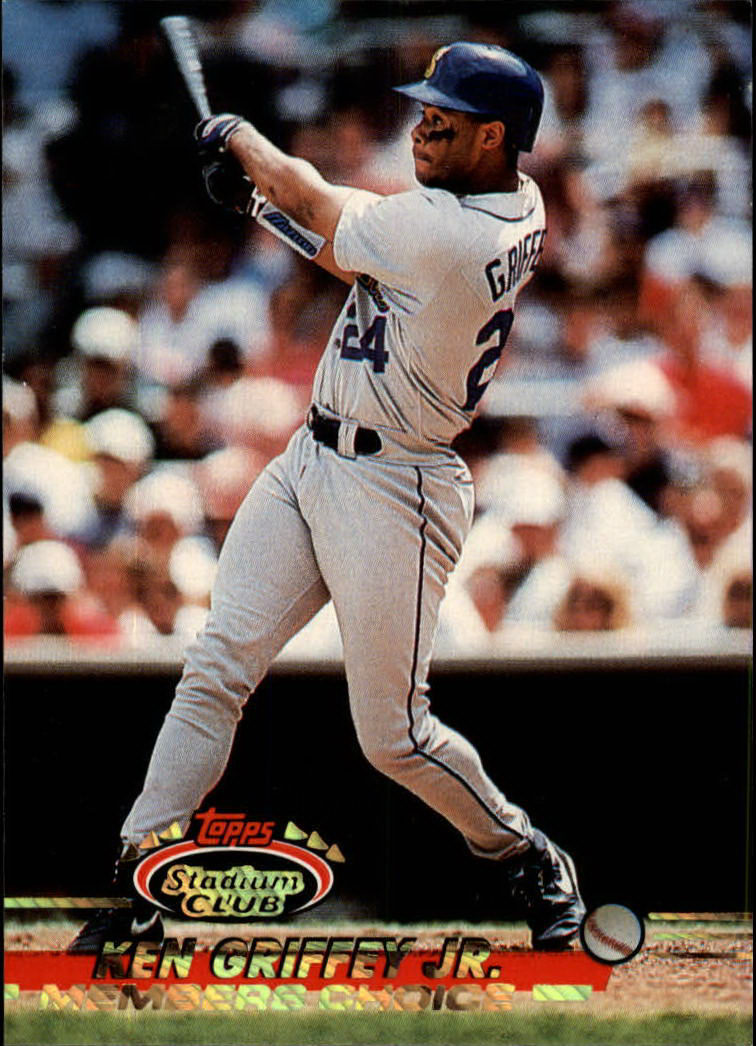 1993 Stadium Club #591 Ken Griffey Jr. MC