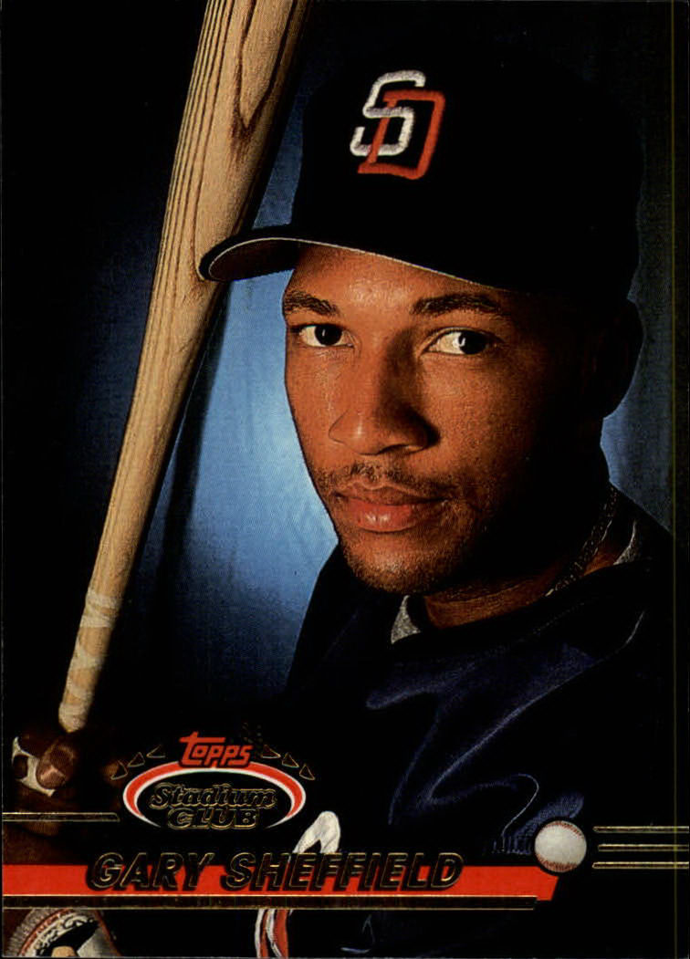 1993 Stadium Club #618 Gary Sheffield