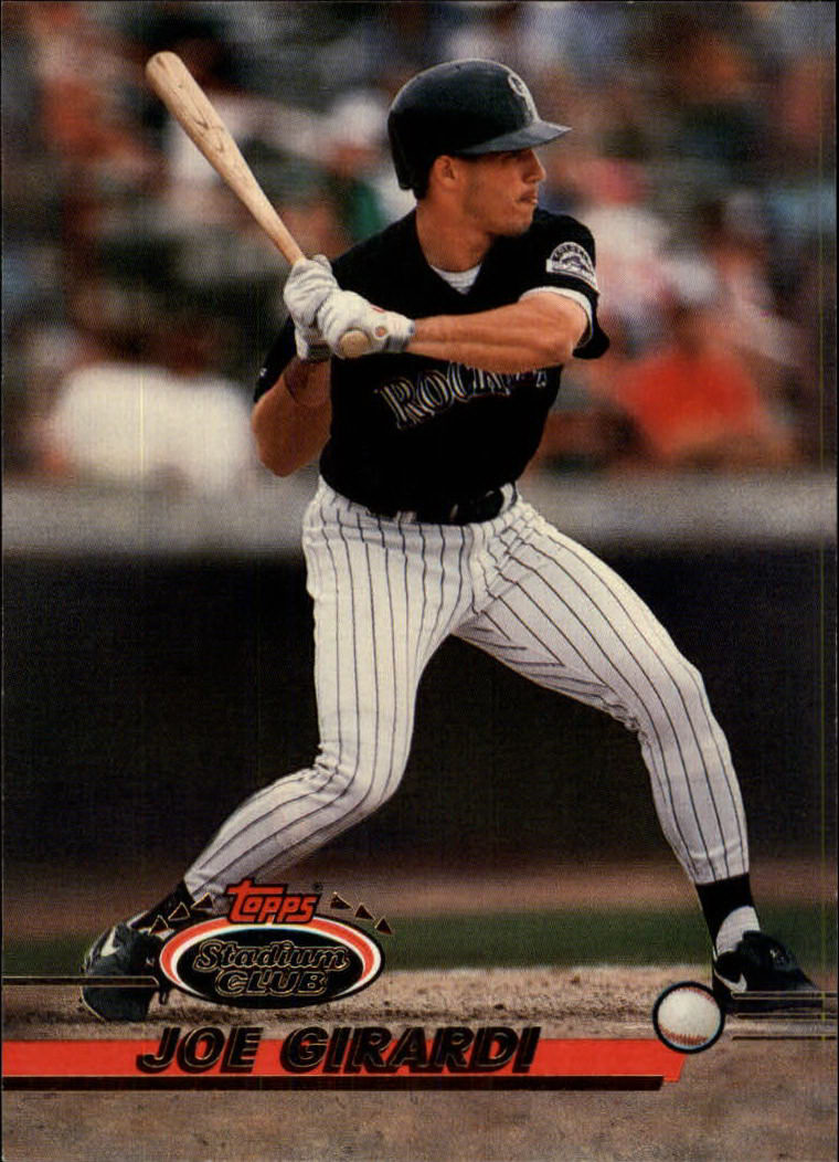 1993 Stadium Club #620 Joe Girardi