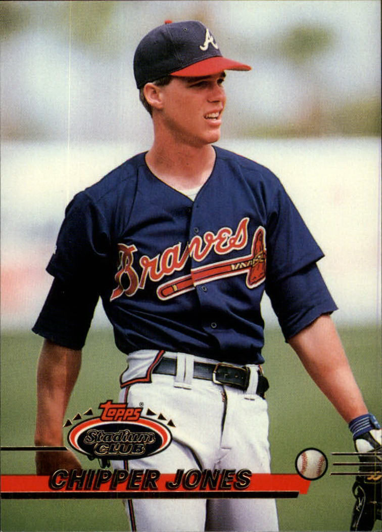 1993 Stadium Club #638 Chipper Jones