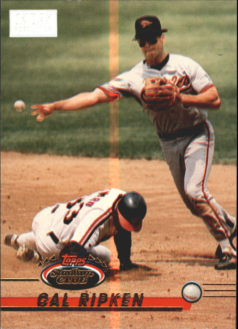 1993 Stadium Club First Day Issue #40 Cal Ripken