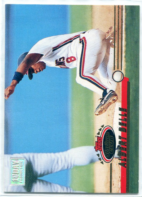 1993 Stadium Club First Day Issue #102 Albert Belle