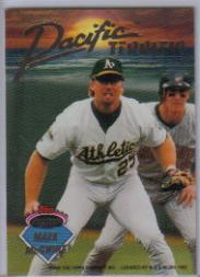 1993 Stadium Club Inserts #B1 M.McGwire/W.Clark