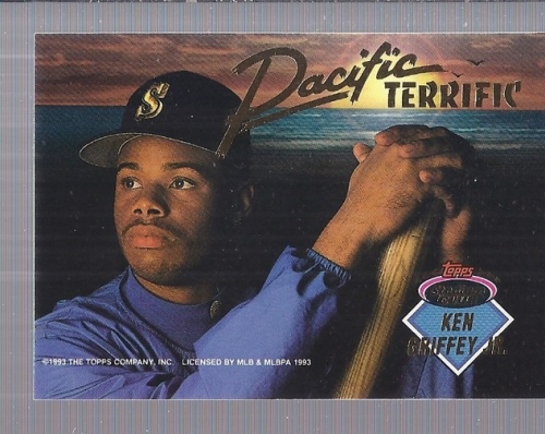 1993 Stadium Club Inserts #B4 K.Griffey Jr./D.Strawberry