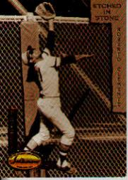 1993 Ted Williams Etched in Stone Clemente #ES6 Roberto Clemente/1955-1959