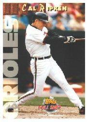 1993 Topps Full Shots #11 Cal Ripken