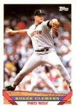 1993 Topps Micro #4 Roger Clemens