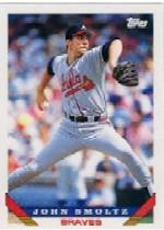 1993 Topps Micro #35 John Smoltz