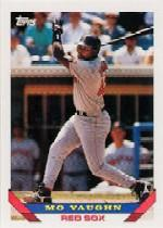 1993 Topps Micro #51 Mo Vaughn