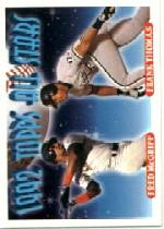 1993 Topps Micro #401 F.McGriff/F.Thomas AS