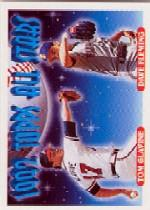 1993 Topps Micro #410 T.Glavine/D.Fleming AS