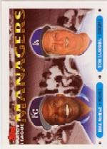 1993 Topps Micro #507 Hal McRae MG/Tom Lasorda MG