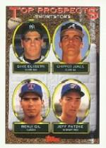 1993 Topps Micro #529 Chipper Jones