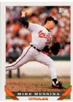 1993 Topps Micro #710 Mike Mussina