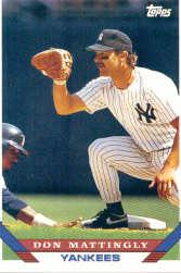 1993 Topps Pre-Production #32 Don Mattingly