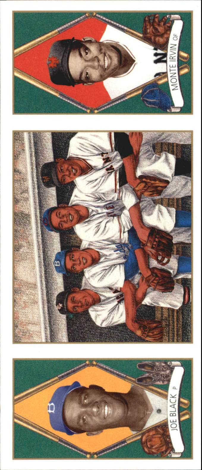 1993 Upper Deck All-Time Heroes #154 Joe Black/Monte Irvin