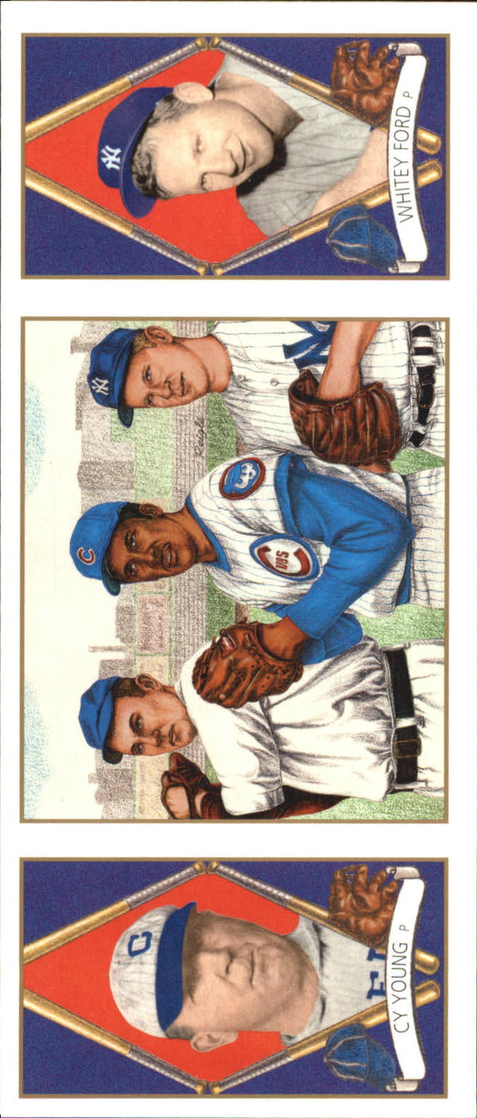 1993 Upper Deck All-Time Heroes #158 Cy Young/Whitey Ford