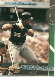 1993 White Sox Stadium Club #1 Frank Thomas