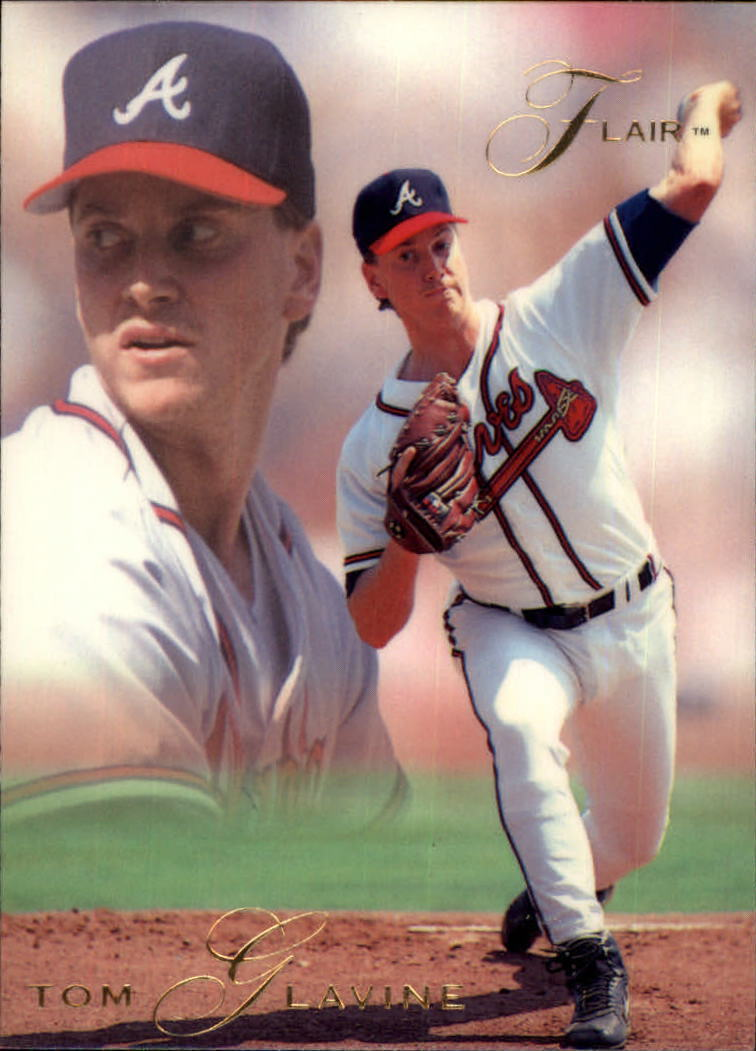 1993 Flair #4 Tom Glavine