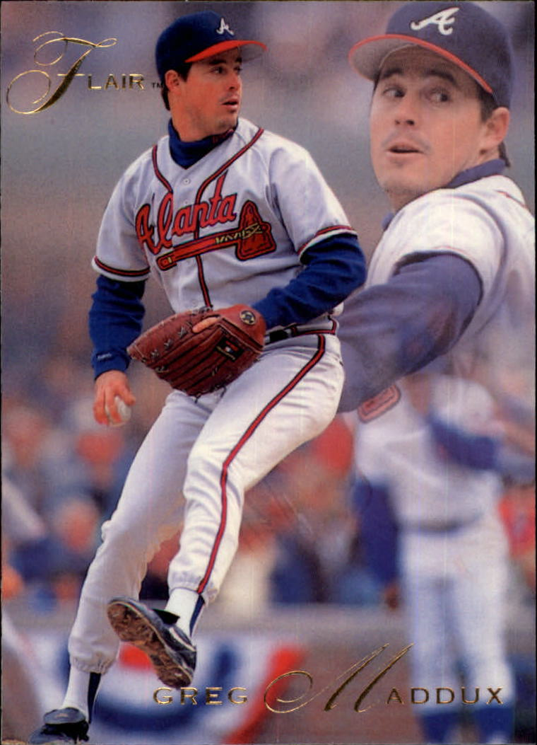 1993 Flair #7 Greg Maddux
