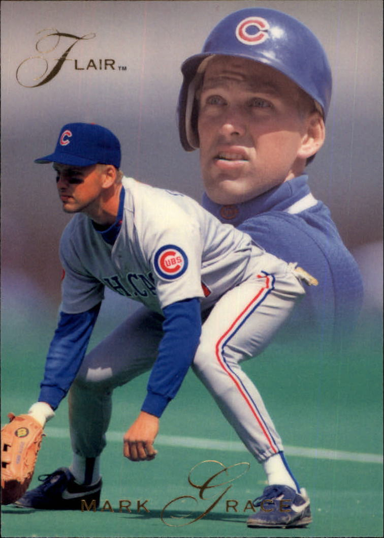1993 Flair #14 Mark Grace
