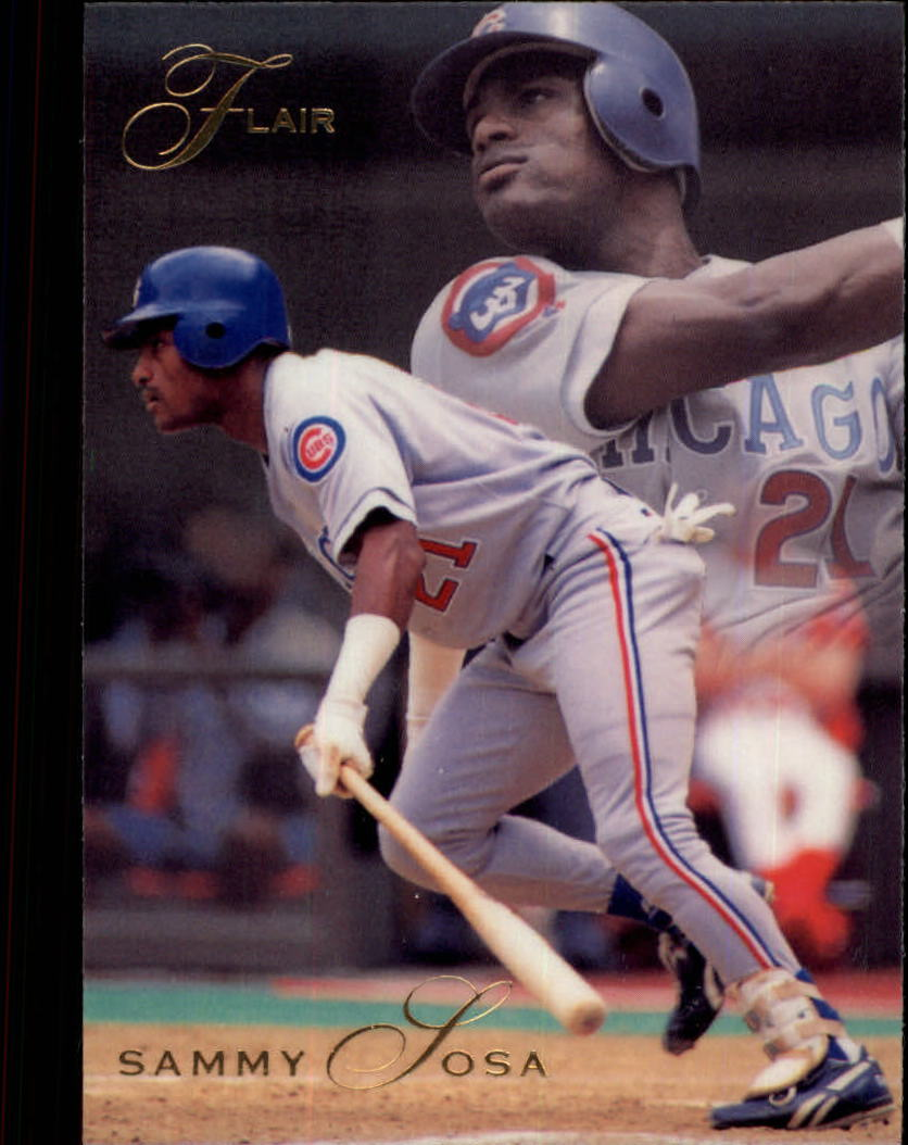1993 Flair #22 Sammy Sosa