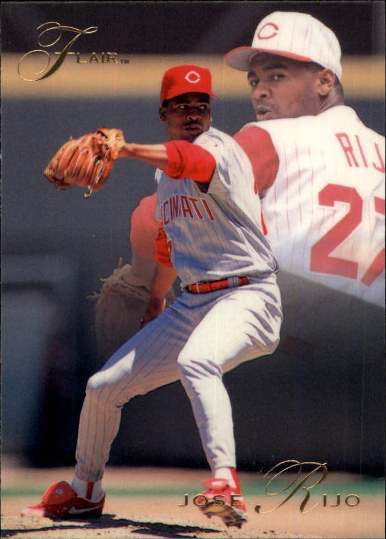 1993 Flair #31 Jose Rijo