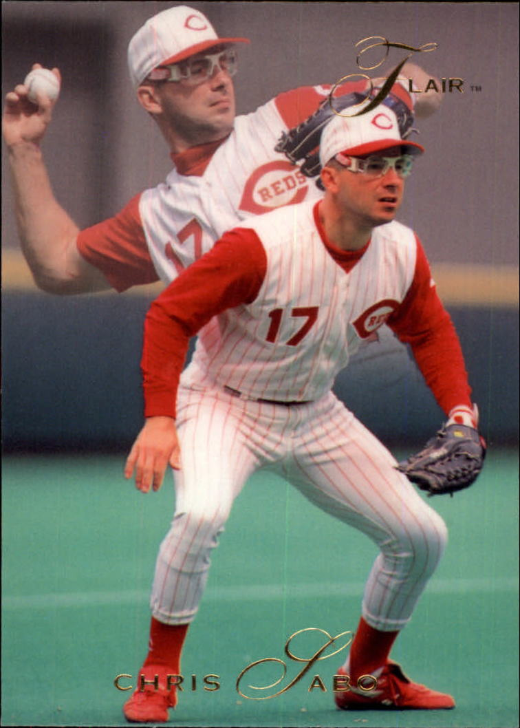 1993 Flair #33 Chris Sabo