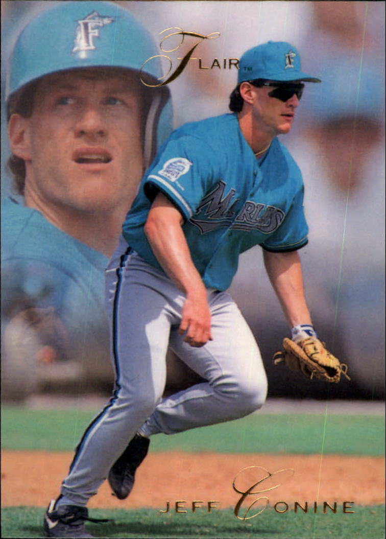1993 Flair #49 Jeff Conine