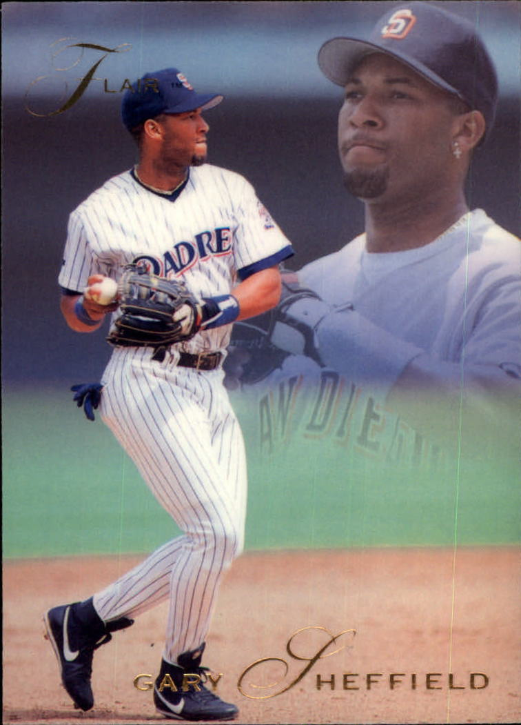 1993 Flair #54 Gary Sheffield