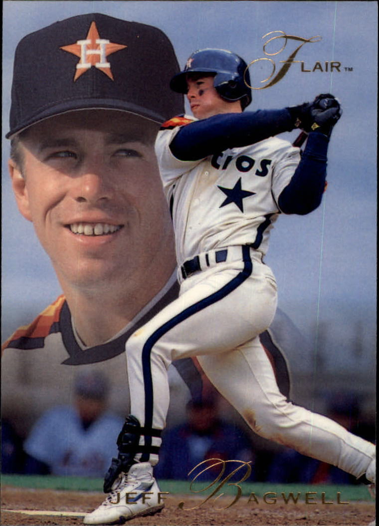 1993 Flair #57 Jeff Bagwell