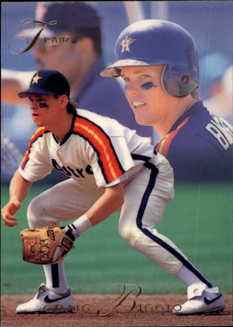 1993 Flair #58 Craig Biggio