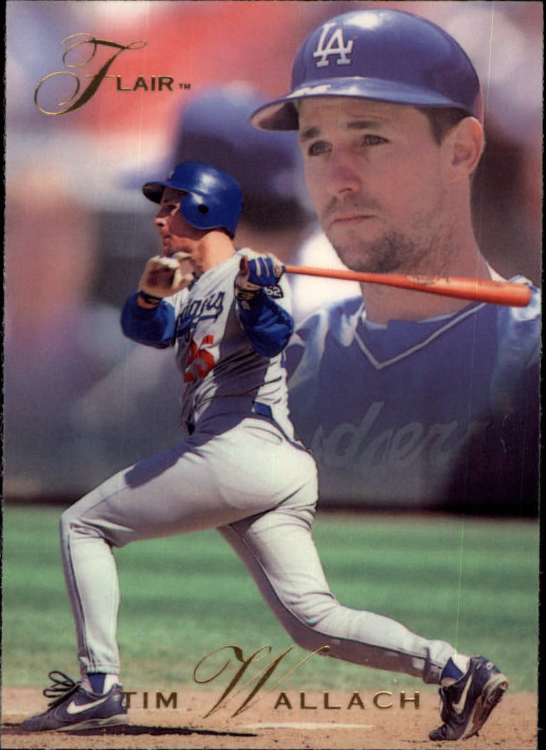1993 Flair #77 Tim Wallach