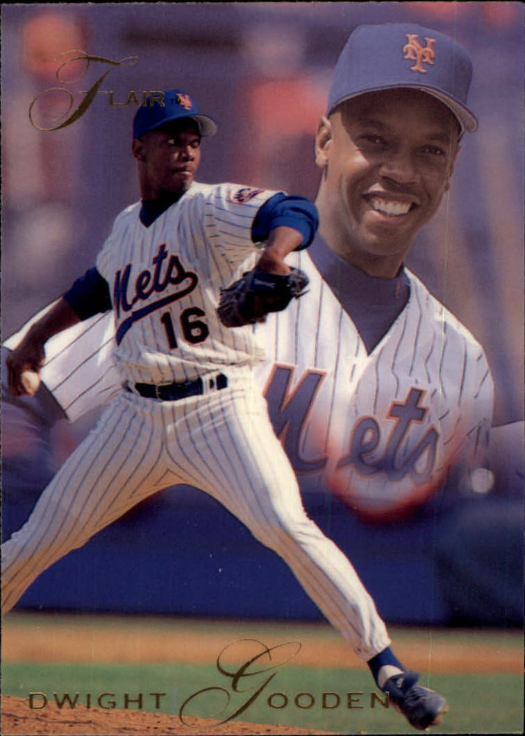 1993 Flair #91 Dwight Gooden