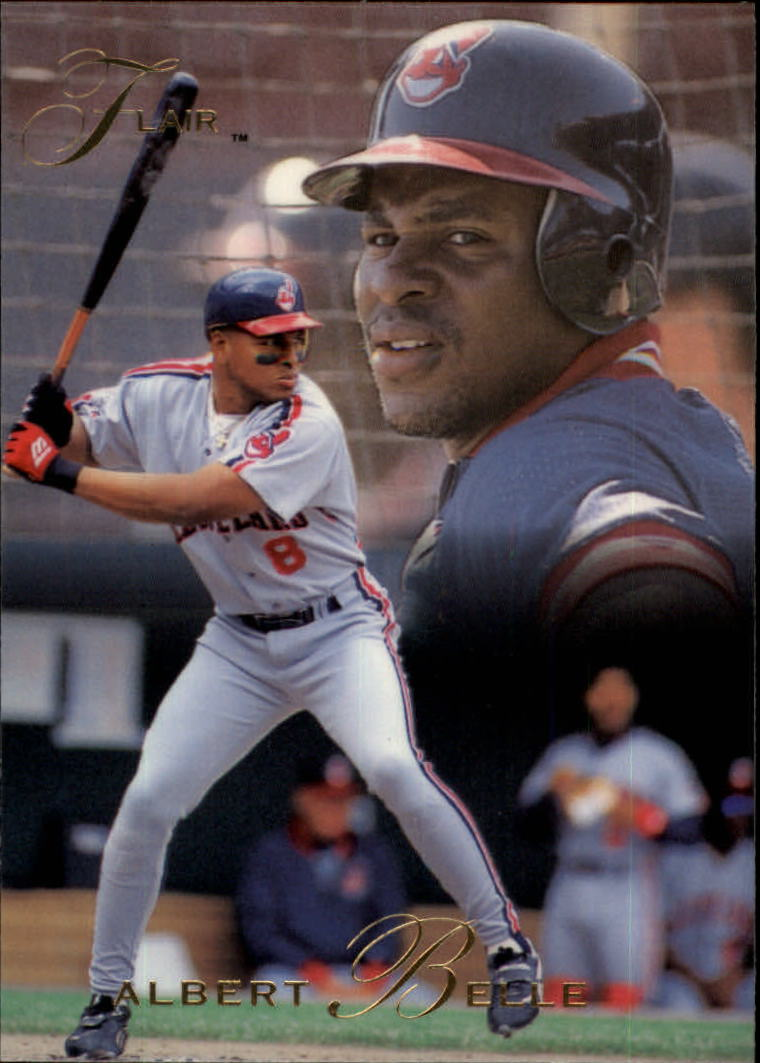 1993 Flair #192 Albert Belle