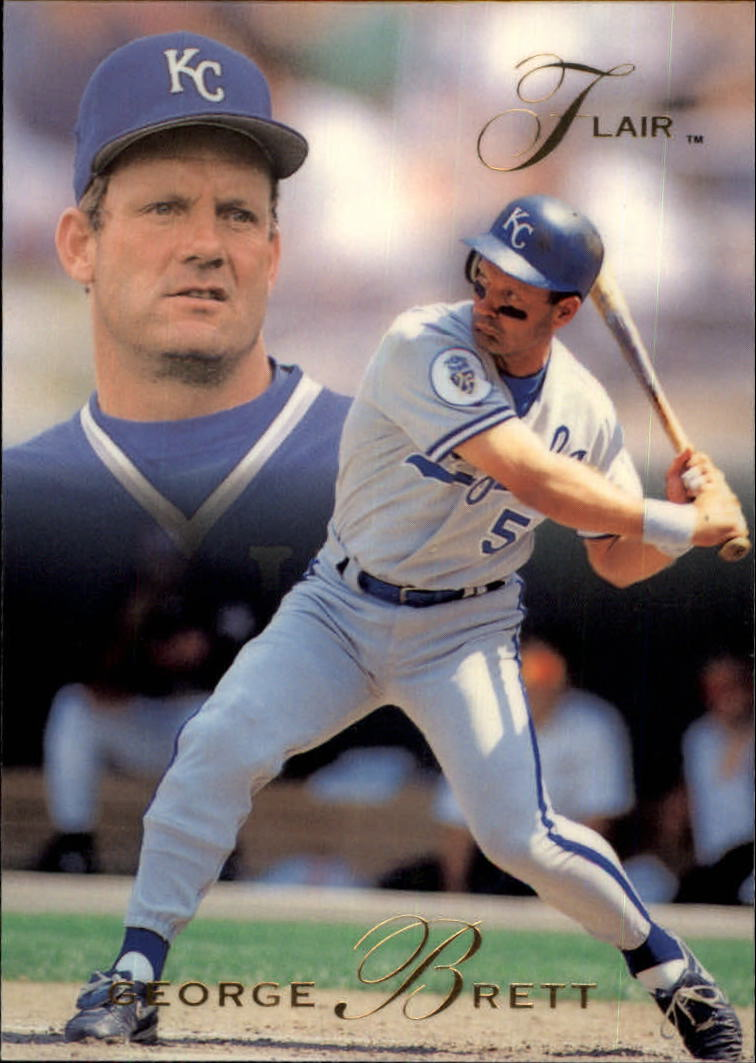 1993 Flair #213 George Brett
