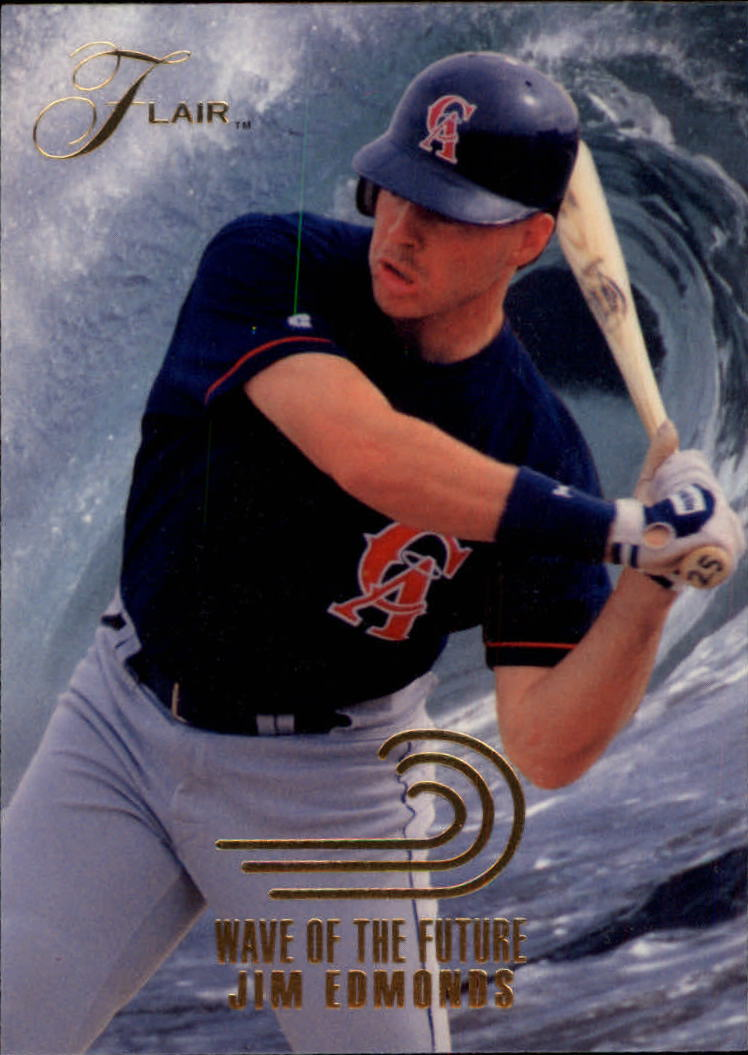 1993 Flair Wave of the Future #4 Jim Edmonds