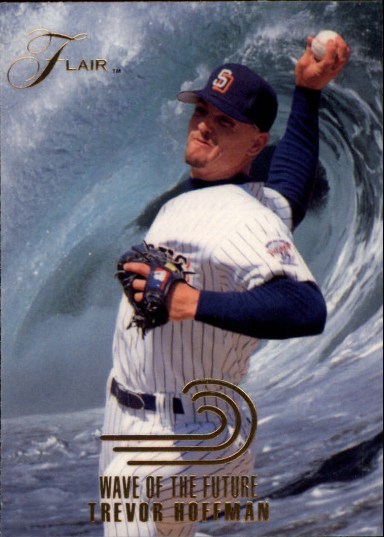 1993 Flair Wave of the Future #7 Trevor Hoffman