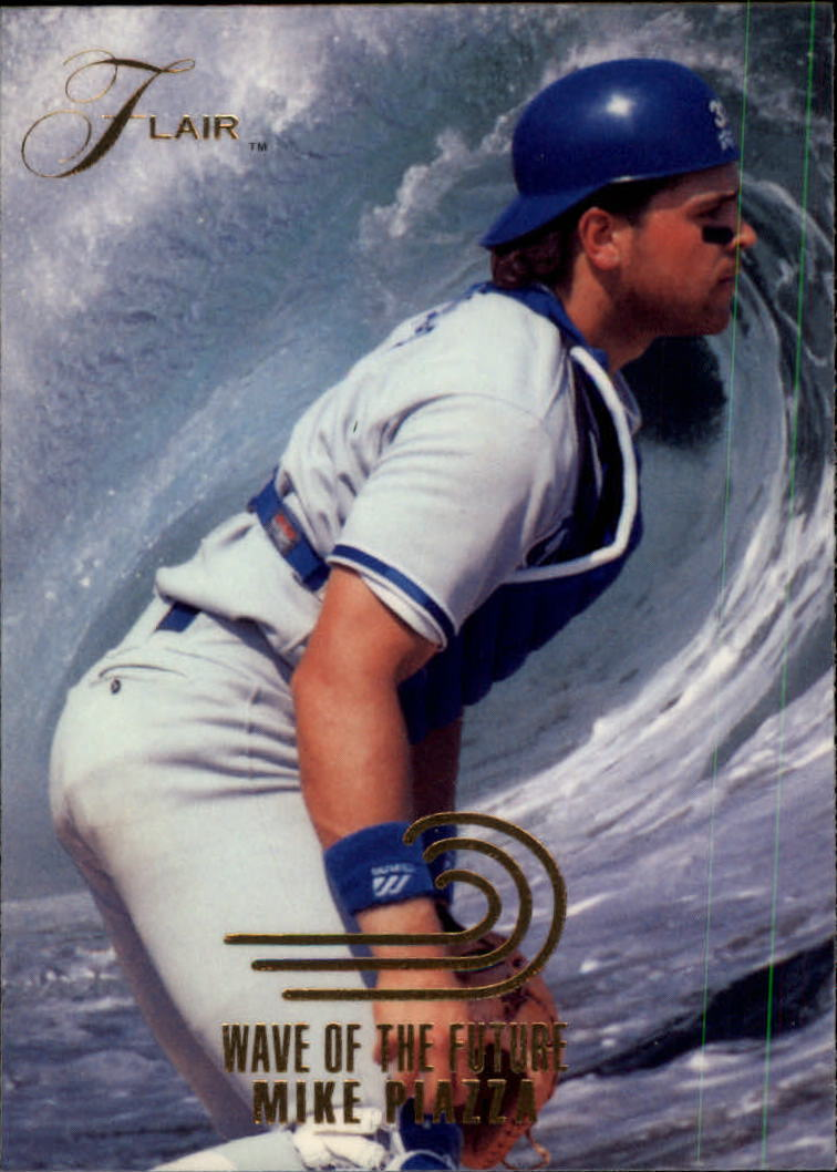 1993 Flair Wave of the Future #12 Mike Piazza