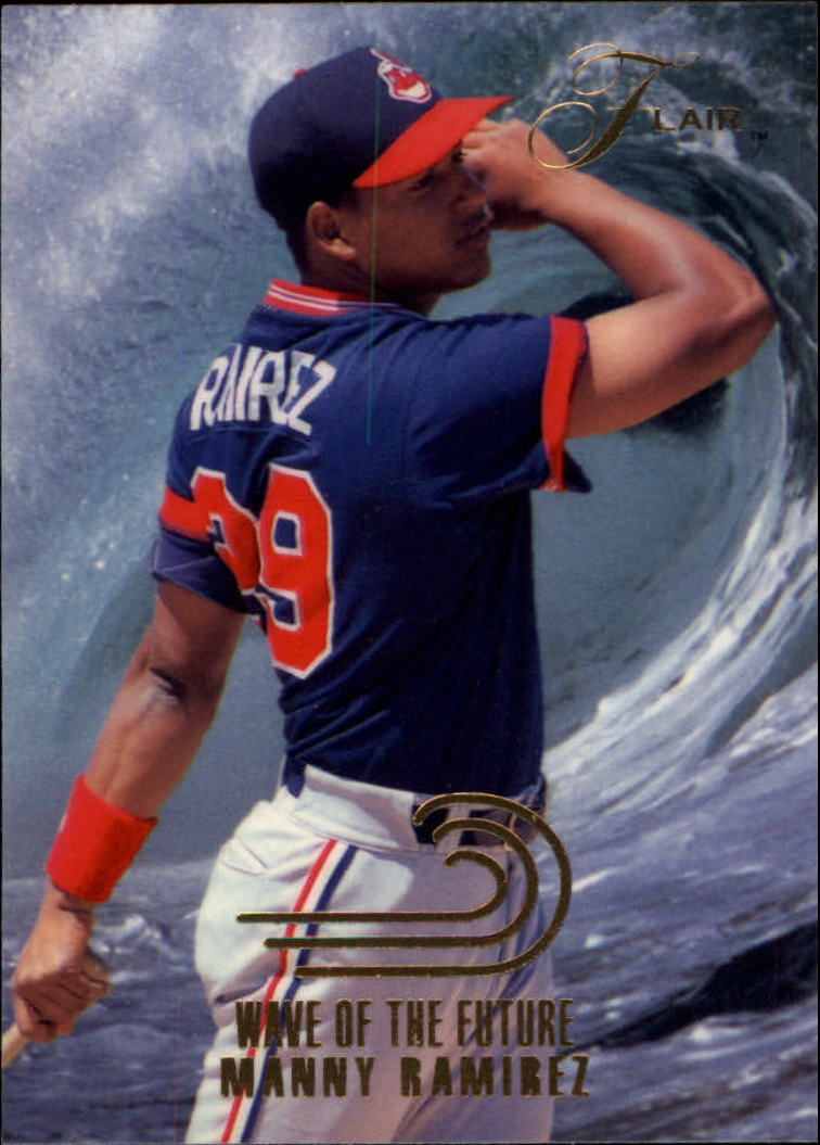 1993 Flair Wave of the Future #13 Manny Ramirez