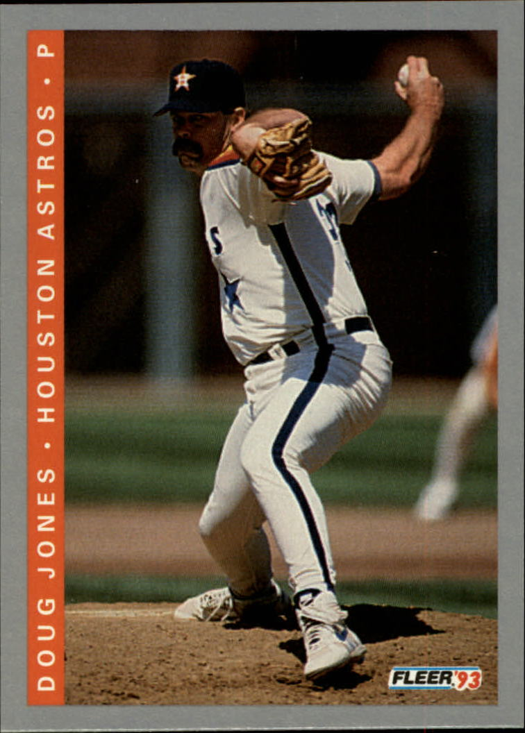1993 Fleer #54 Doug Jones