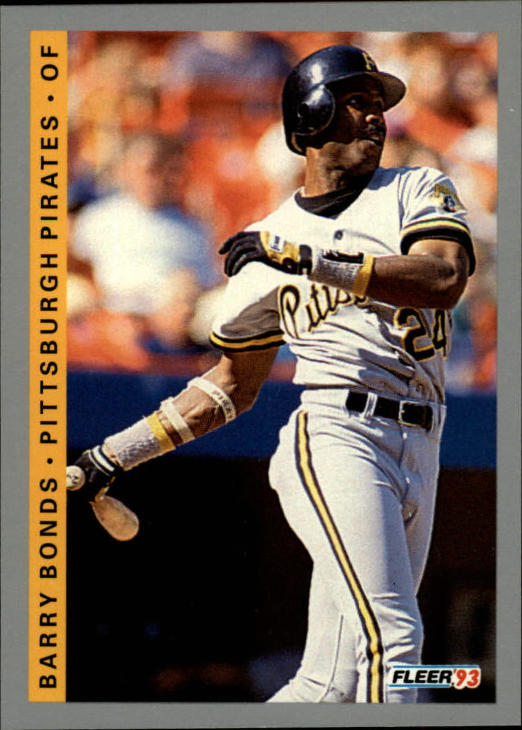 1993 Fleer #112 Barry Bonds