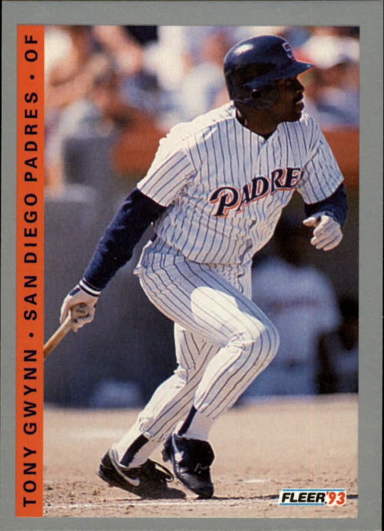 1993 Fleer #138 Tony Gwynn